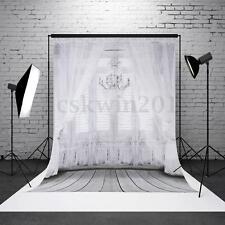Hintergrund Foto Studio Backdrop Grau Reminiszenz Holzfussboden 0.9x1.5M