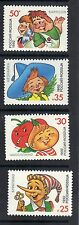 Russia 1992 Characters from Children's Books & Cartoons MNH Set Sc # 6076-6079