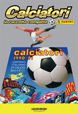 ALBUM PANINI CALCIATORI LA RACCOLTA COMPLETA 1990-91 1991 GAZZETTA DELLO SPORT