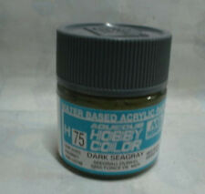GUNZE SANGYO H75 Dark Seagray water based acrylic paint 10 ml