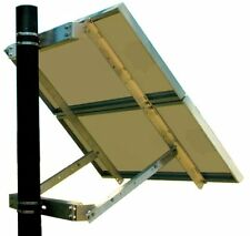 Solar Panel Mount - 2-Panel Bracket System - Side of pole mount