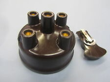 FORD GPW  AND WILLYS MB,CJ2,CJ3A, BROWN UNMARKED DISTRIBUTOR CAP AND ROTOR ARM