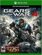 Gears of War 4 (Microsoft Xbox One, 2016) Brand New