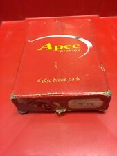 APEC FRONT BRAKE PADS TO SUIT FSO POLONEZ AND CARO 1.9D PAD874