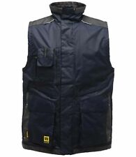 Regatta Hardwear Encode Mens Heavy Duty Padded Bodywarmer Gilet .Jacket Navy S