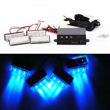 4x3 LED Car Police Strobe Beacon Flash Light Emergency Warning 3 Modes 6W 12V