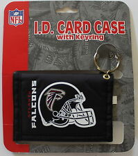 Atlanta Falcons ID Card Case Keyring Wallet NFL Licensed Football Change