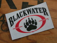 Patch Velcro - BLACKWATER - ACU IRAK M4 AIRSOFT BDU CAP