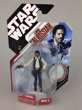Star Wars 30th Anniversary Figure Coin Lando Calrissian In Smugglers Outfit