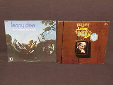 LENNY DEE 2 LP RECORD ALBUMS LOT COLLECTION Best Of Volume 2/Easy Come, Easy Go