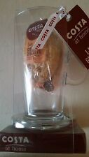 Costa Latte Glass Gift Set Christmas Gift Costa Coffee