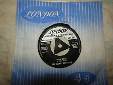 EVERLY BROTHERS POOR JENNY / TAKE A MESSAGE TO MARY 8863 .....45rpm pop / single