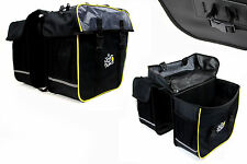 Doppel Fahrrad Tasche Packtasche TOUR de FRANCE Gepäckträger Gepäcktasche