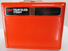 Vintage Zebco Traveler tripper 2450 Portable Propane Barbequer Orange BBQ S