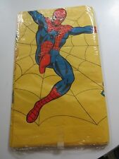Vintage Mattel 1978 Amazing Spider-Man Party Tablecloth NOS
