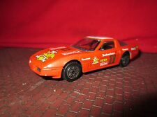 1/43 chevrolet corvette budweiser racing 11  burago  display piece RED cod 4192