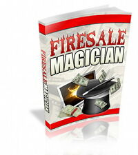 FIRESALE MAGICIAN, Internet Marketing Triple-play - The Power Of A Fire Sale (CD