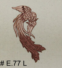 1PC~CHINESE PHOENIX~IRON ON EMBROIDERED APPLIQUE