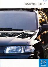 Mazda - 323P - Prospekt  - 08/1998  - Deutsch - nl-Versandhandel