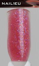 Purpurina Color-Acrílico Acrílico Polvo NAIL1EU Rosa Brillo 7g/ De