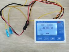 Hot Water Flow Control Digital LCD Meter  water flow cutoff