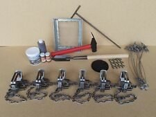 Bridger #1.75 OFF SET Coyote/Fox Trapping Package, trapping, Fox, Badger. Traps