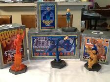 Marvel Super Heroes Fantastic 4 Mini Statues Figures Set of 4 Strictly Limited