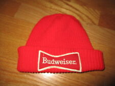 "Vintage BUDWEISER ""Bow Tie"" Logo (One-Size) Knit Cap"