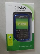 Cricket Blackberry Curve 9350 Soft Touch Shield Blue Case SKU CPC1730 Brand New