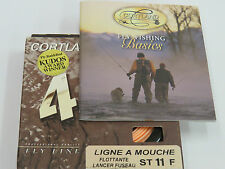 Cortland 444 floating Shooting tpr St 11 f ligne a mouche
