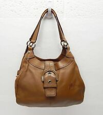 $358 Coach Tan F17219 Leather Shoulder bag handbag Soho purse