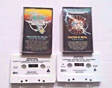 Masters of Metal Crankin Up 1970-1980 & Thunder N Spice Cassette Tapes