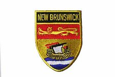 NEW BRUNSWICK SHIELD CANADA PROVINCIAL FLAG IRON-ON PATCH CREST BADGE