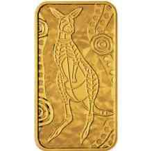 2008 Australia Kangaroo Dreaming  Rectangular Proof 10g Gold Coin - Perth Mint
