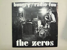 "ZEROS:Hungry-Radio Fun-U.K. 7"" 1977 Small Wonder Records 002 Limited Edition,PSL"