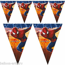 2.3m Marvel The Amazing Spider-Man 2 Movie Pennant Banner Bunting Decoration
