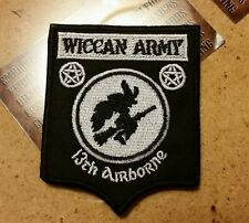 Wiccan Army patch badge