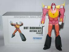 "Transformers Takara Tomy G1 Hot Rod 11"" Poseable Action Figure Boxed"