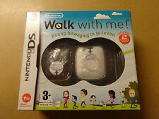 NINTENDO DS GAME / WALK WITH ME + 2 ACTIVITEITENMETERS