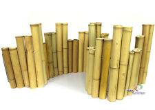 Bambus Beetumrandung Deko Bambuszaun Bambusrohr Rasenkante