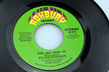 William DeVaughn: Kiss and Make Up / Sing a Love Song  [Unplayed Copy]