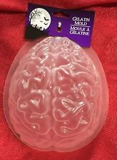 Brain Mold Gelatin Dessert Jello Freeze Ice Halloween Chocolate Creepy Zombie