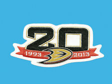 NHL ANAHEIM DUCKS 20TH ANNIVERSARY PATCH 1993-2013