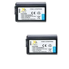 2X NP-FW50 Batteries for Sony Alpha NEX-3 NEX-5 NEX-6 NEX-7 SLT-A33 NEX3NL/B