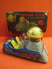 ALL ORIGINAL MOON CAR MOON PATROL SPACE DIVISION #3 BATTERY OPERATED + BOX