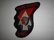 US 2nd Infantry Division IMJIN SCOUTS Korean Demilitarized Zone DMZ Patch