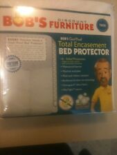 BOB'S FURNITURE WATERPROOF BREATHABLE TWIN SIZED BED PROTECTOR