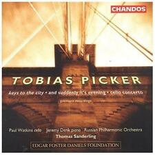 TOBIAS PICKER: KEYS TO THE CITY; AND SUDDENLY IT'S EVENING; CELLO (NEW CD)