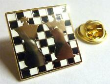 Chess King Queen Board Knight Game Club Classic Jacket Hat Vest Tie Lapel Pin