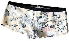 GapBody Ultra Low Rise  Cotton Blend Multi-Color Floral Boy Shorts Panties SZ S